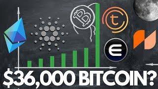 $36,000 Bitcoin, BTC Halving, ADA & ETH updates, TOMO on Ledger Nano, Enjin - Crypto News