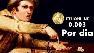 Melhor mineradora de #Ethereum | pagando 300 MIL #Satoshis por dia (#Mineração #em #nuvem )