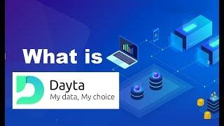 Blockchain Based DATA Platform | DAYTA ICO Review