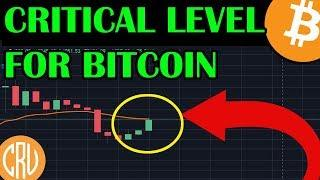 CRITICAL Level For Bitcoin To Break | LIVE Bitcoin and Cryptocurrency News