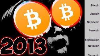 Это нужно Увидеть КАЖДОМУ! Цикл 10 криптовалют c 2013 по сегодня!