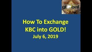 FULL TUTORIAL:  Exchange KBC into GOLD! #Karatbars July 4th Guarantee Delivered!