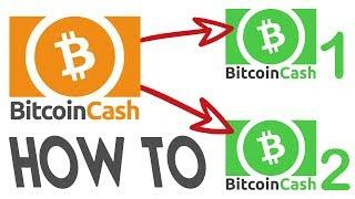 Bitcoin Cash (BCH) Hard Fork - How to double your BCH!