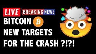 NEW Targets for the Bitcoin (BTC) Crash! - Crypto Market Technical Analysis & Cryptocurrency News