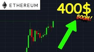 ETHEREUM LES 400$ VONT EXPLOSER !? eth analyse technique crypto monnaie bitcoin