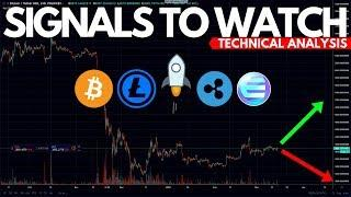 Is a Big Bear Move for Bitcoin Coming?! BTC, LTC, XLM, XRP, ENJ Technical Analysis