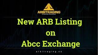 ARB Token Listed on Abcc Exchange  #Arbitraging  #Ethereum
