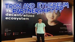 TRON (TRX) and Ethereum (ETH) Partnership is Amongst Us Now! **Proof**