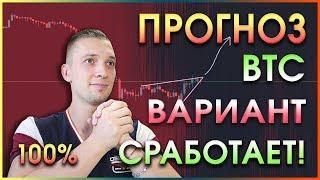 BTC Прогноз Вариант 100% Биткоин упал, Вася бтц, Аналитика криптовалют