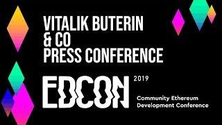Ethereum Foundation EDCON Press Conference 2019