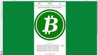 50$ в токенах Micro Ethereum и 20+ Bitcoin Classic за 6 Round