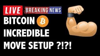 INCREDIBLE Move Setup for Bitcoin (BTC)?! - Crypto Market Trading Analysis & Cryptocurrency News