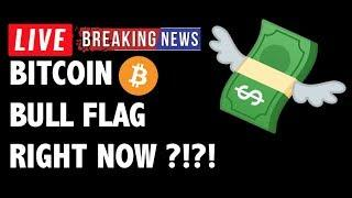Bitcoin BULL FLAG PATTERN ON BTC Right Now?! - Crypto Market Trading Analysis & Cryptocurrency News