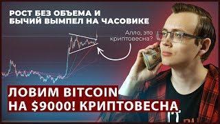 Биткоин памп. Как киты разведут инвесторов Bitcoin и Ethereum. Что делать нам? #Криптовесна