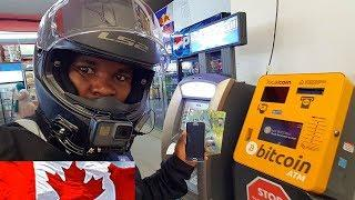 How to Buy Bitcoin and Ethereum From The ATM/ Canadian Motovlogger