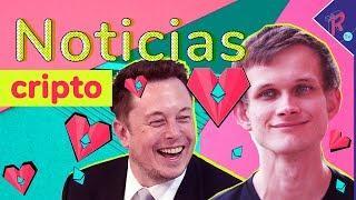 Elon Musk y Vitalik Buterin discuten sobre Ethereum!