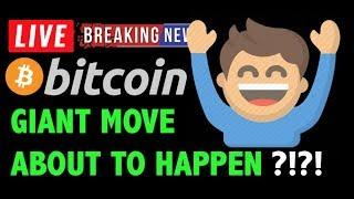 Bitcoin PRICE NEXT GIANT MOVE ABOUT TO HAPPEN?! - Crypto Trading Analysis & BTC Cryptocurrency News