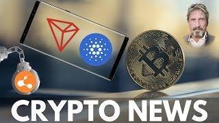 Samsung Crypto Wallet Update, Tron BitGo, Bitcoin Predictions, Cardano Rumors - Crypto News