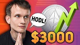 Пруф: Виталик Бутерин Ожидает Возвращение Цены Ethereum 1000$ и Выше! Следующий Рост Будет Эпическим