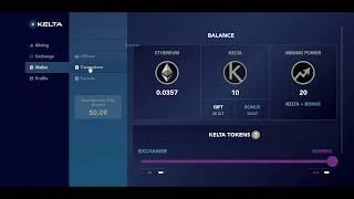 Kelta дарит каждому новому пользователю 30 токенов и 0.176 ethereum. Платит Первый вывод