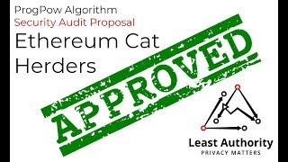 Ethereum ProgPow Audit Has Been Funded & Approved