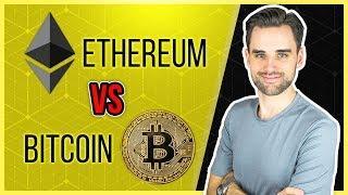 Ethereum Vs Bitcoin - Explained for Beginners