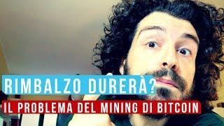 Rimbalzo Bitcoin durerà? Il problema del mining