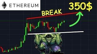 ETHEREUM 350$ ENFIN LE PUMP ATTENDU !? ETH analyse technique crypto monnaie bitcoin