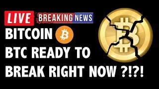 Is Bitcoin (BTC) Ready to Break Right Now?! - Crypto Market Technical Analysis & Cryptocurrency News