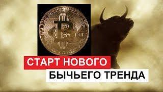 Bitcoin Начало нового бычьего тренда | Укрепление позиций Биткоина на рынке