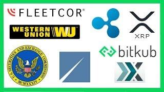 SEC ICO Regulation - FLEETCOR to Buy Western Union Business (Ripple XRP) - XRP Flow BTC & Poloniex