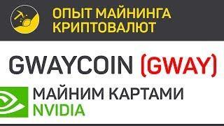 Gwaycoin (GWAY) майним картами Nvidia (algo phi2) | Выпуск 181 | Опыт майнинга криптовалют