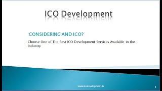 ICO Launching Platform   ICO Development