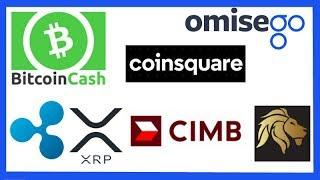 Bitcoin Cash Fork - Coinsquare Opens in EU - Ripple CIMB Group Partnership - Blockchain Nordic XRP