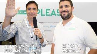 Please - CEO Roman Barissat Interview With Dushan Spalevich for ICO TV