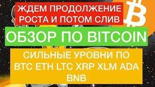 Прогноз по Биткоин, BTC, ETH, LTC, XRP, BNB, XLM, ADA на 4 Мая! РОСТ БУДЕТ ПРОДОЛЖЕН?!