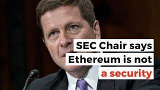 SEC Is Ethereum A Security? | Crypto News