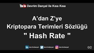 Hash Rate Nedir ? Kısa Kısa Blockchain Blokzinciri Kriptopara Bitcoin