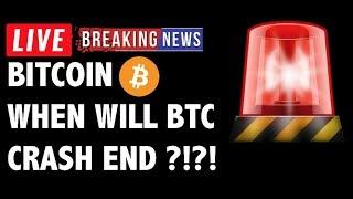 When Will The Bitcoin (BTC) Crash End?! - Crypto Market Technical Analysis & Cryptocurrency News