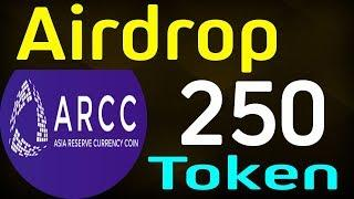 ARCC ICO Airdrop Get free token worth Cryptocurrency ICO