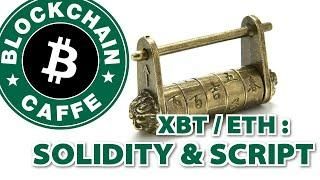 Smart Contract in Bitcoin ed Ethereum     Blockchain Caffe
