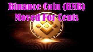 Ethereum Blockchain!  $510M In Binance Coin (BNB) Moved For Cents